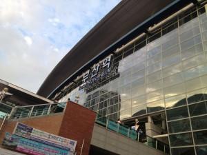 韓国第二の都市、釜山で調査