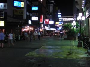 バンコクの夜の街