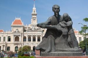 ベトナム一の都市、ホーチミンでの調査
